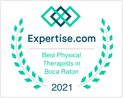 Voted 2021's Best Physical Therapists in Boca Raton by Expertise.com